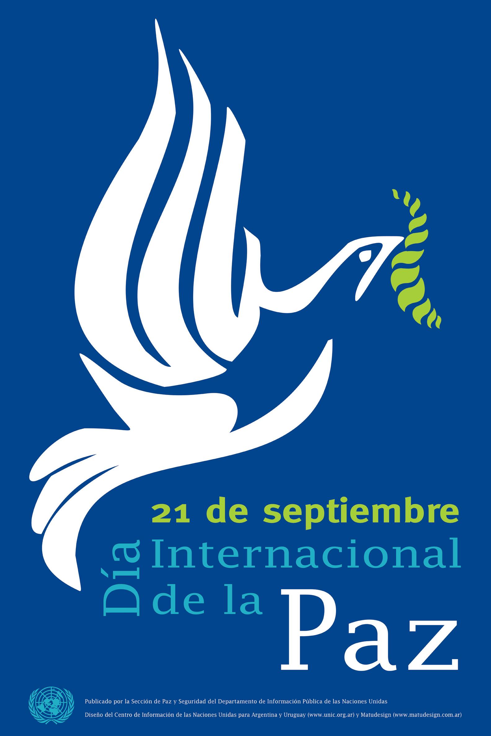 dia internacional de la paz logo