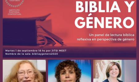 Les invitamos a la actividad: Biblia y Género